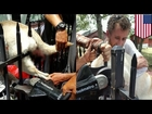 Animal rescue: Dog impaled on iron fence spike rescued by North Carolina firefighters - TomoNews