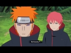 Orochimaru Vs Pain & Sasori Full Fight - NARUTO Shippuden Ultimate Ninja Storm Revolution | Akatsuki