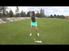Bria Jansen 2014 Golf Swing Video