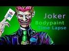 Joker Body Paint TimeLapse