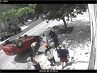 *RAW* Meth Head Flips His Car and WIPES OUT Accident