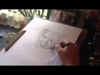 Melissa Debling portrait speed drawing
