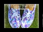 DIY Galaxy Print Shoes Slideshow (: