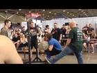 2014 Iron Label Strongman - 300lb Stone fail shirt rip