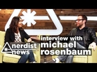 Stop and Smell the MICHAEL ROSENBAUM (& Isaiah Mustafa!) - Nerdist News w/ Jessica Chobot BONUS