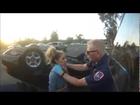 163 Overturned Car Extrication [Helmet Cam]