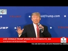 Donald Trump Blasts 'Dopey' Glenn Beck at Portsmouth, NH Event