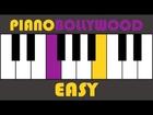 Humko Humise Chura Lo - Easy PIANO TUTORIAL - Stanza [Left Hand]