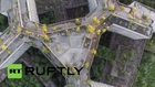 Russia: Drone captures Hovrino Mental Hospital in all its 'haunting' glory