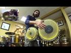 Rhythm for Ochosi on 3 Bata Drums
