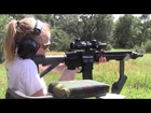 11 Year Old Girl Shooting AR 15 at 100 Yards