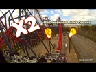 [HD POV] X2 POV Roller Coaster - Six Flags Magic Mountain
