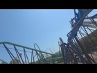 Batman The Ride Backwards (On-Ride) Six Flags Magic Mountain