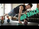 ULTIMATE MEDICINE BALL MOVES—How To & Variations | Tony Horton Fitness
