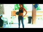 Kimfitnesschic-LIVE! 100TH DAY WORKOUT-Best medicine ball workout-day 100