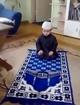 bachay ki azan or namaz ki koshish