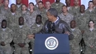 In Afghanistan, Obama tells troops