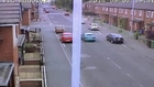 Shocking CCTV: Hit and run driver ploughs into schoolboy