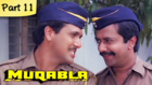 Muqabla - Part 11 of 13 - Hit Bollywood Blockbuster Romantic Action Movie - Govinda, Karisma Kapoor