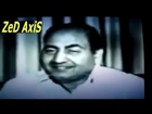 Interview of Muhammed Rafi Sahib.