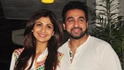 Shilpa Shetty With Raj Kundra At The Special Screeing Of Chaar Sahibzaade