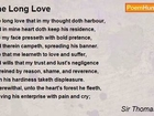 Sir Thomas Wyatt - The Long Love