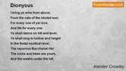 Aleister Crowley - Dionysus