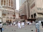 pigeon flying outside makkah after salah fajar