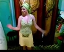 Arabic Female Belly Dance At Home