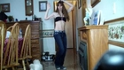 navel closeup and dance 111 short videos today 036 June marie Liddy 1