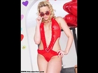 Alexis Texas looking hot in her Valentines lingerie and hearted