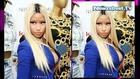 Oops: Nicki Minaj suffers nip slip