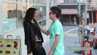Kissing Prank Belly Button Poke