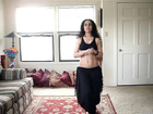 Belly dance bollywood fusion workout - Step by step combinations