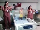 Young Cancer Patient | These nurses are legends! Making her day with some dancing!