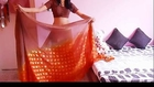 Indian desi girl hot navel show