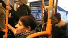 Desi Auntie Fighting in Lodon Bus